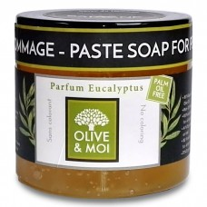 OLIVE & MOI savon d´hammam - olivová pasta, EUKALYPTUS