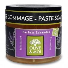 OLIVE & MOI savon d´hammam - olivová pasta, LEVANDULE